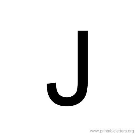 Printable Letters J | Letter J for Kids | Printable ... J