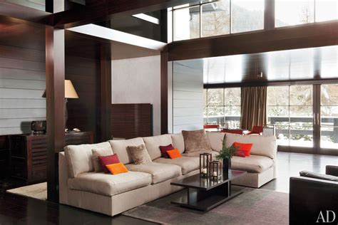 armani living room giorgio armani s swiss retreat photos architectural digest