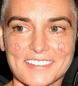 sinead o connor wants to get this stupid s t off my face