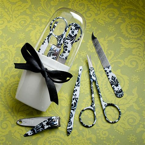 Manicure Set Souvenir manicure set gift damask design