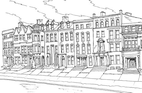 coloring pages for adults architecture centerfold buffalo architecture coloring book the public
