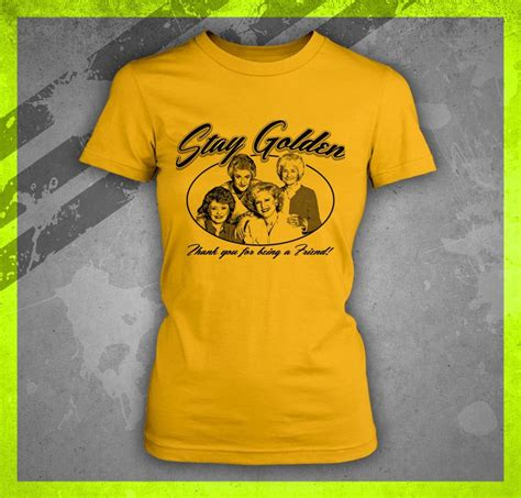Hello Golden Tshirt stay golden thank you for being a friend 1980 s junior t shirt ebay