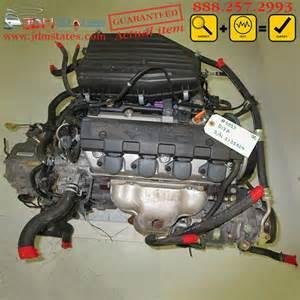 1 7 L Honda Engine Jdm Honda Civic Acura El D17a 1 7l Sohc Vtec Engine 2002