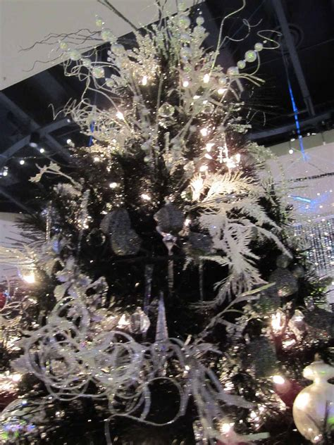 black christmas tree luxury interior design journal