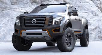 Nissan Titan Concept 2016 Nissan Titan Warrior Concept Technical Specifications