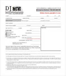 radio dj resume cover letter exles dj resume template