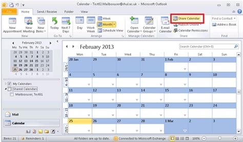 Where Is Calendar In Office 365 Royal Holloway Office 365 Email How Do I My
