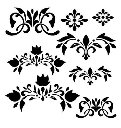 Vorlagen Orientalische Muster Die Besten 17 Ideen Zu Ornament Schablone Auf Damast Wandschablonen Damast Wand Und
