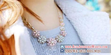 Kalung Fashion Wanita Nn03 jual kalung wanita murah kalung fashion korea kalung emas jual aksesoris wanita