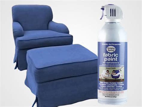 spray paint upholstry periwinkle upholstery fabric spray paint