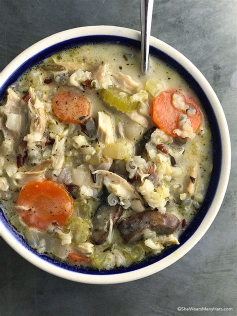 wild rice chicken soup cooking light creamy chicken wild rice soup recipes