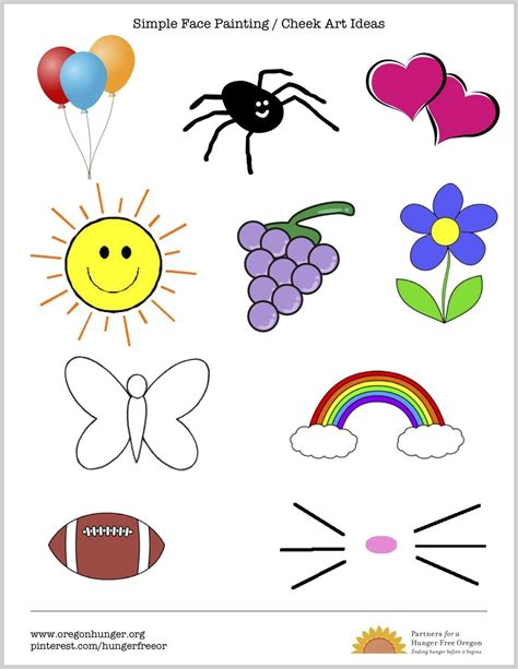 Paint Templates Printable by Painting Templates Gallery Template Design Ideas
