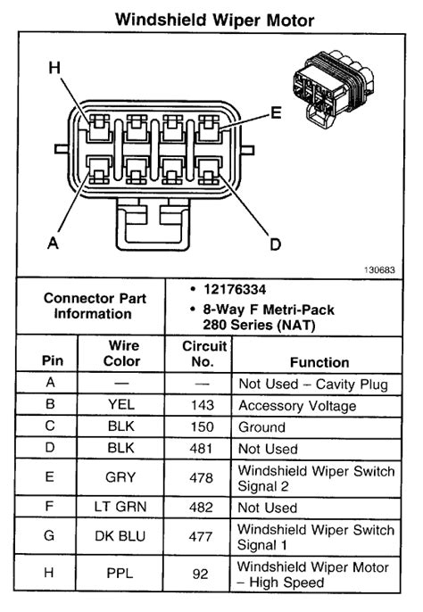 Wiper motor diagram - Page 2 - GM Forum - Buick, Cadillac