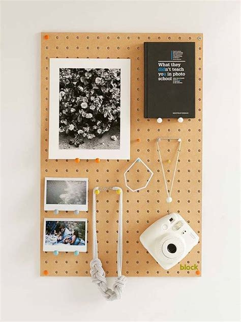 pegboard design block design wooden peg board displays your favorite items