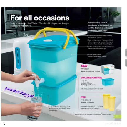 Dispenser Beserta Gambar dunia puanstoberi katalog tupperware edisi 9 jan 9