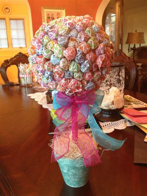 homemade candy centerpiece abrielle 1st bday pinterest