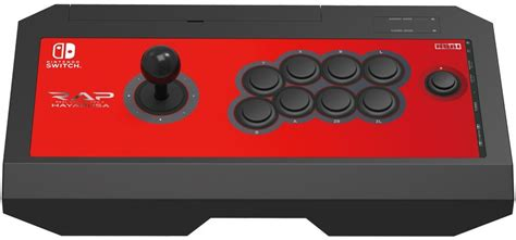 Hori Switch Real Arcade Pro V Hayabusa Fight Stick Coming Stateside Gonintendo Nintendo Switch Arcade Cabinet Template