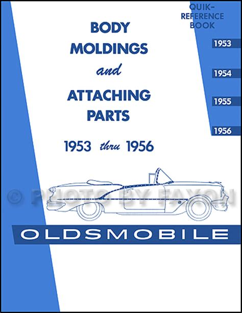 1955 Oldsmobile 88 98 Cd Repair Shop Manual Amp Illustrated