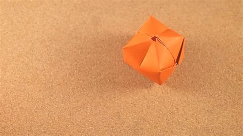 Easy Origami Water Bomb - how to make a waterbomb 11 steps with pictures wikihow