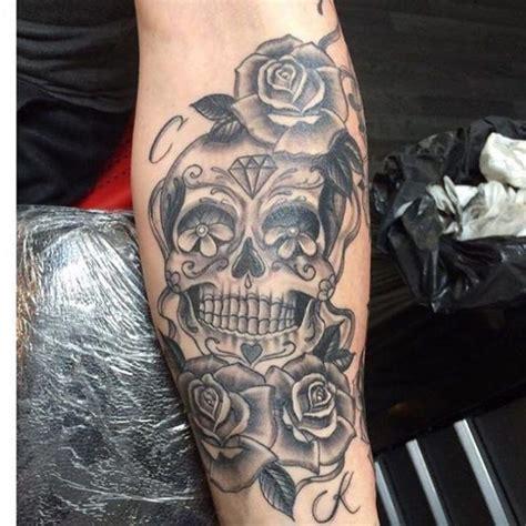 12 watercolor skull tattoo designs pretty designs collection of 25 watercolor on sugar skull on arm
