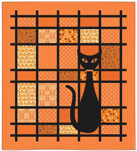 free pattern wall hanging quilt free spooky halloween wall quilt patterns to download