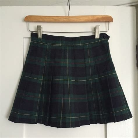 17 best ideas about yellow plaid skirt on 90s