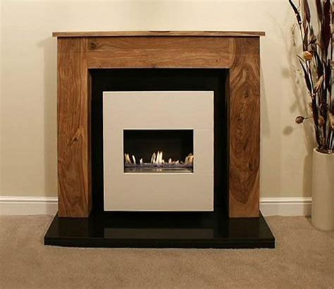 bonita traditional flueless gas fireplace with wooden