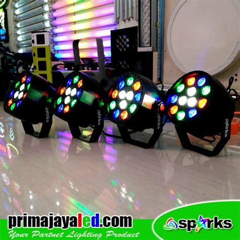 Lu Par Spark Mini 12 X 1 Watt paket 4 mini par 12 led prima jaya led