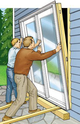 How To Fit Patio Doors Replacing A Patio Door Doors As And Popular Mechanics