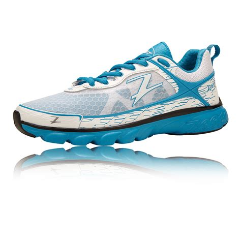 zoot solana womens white cushioned road running shoes