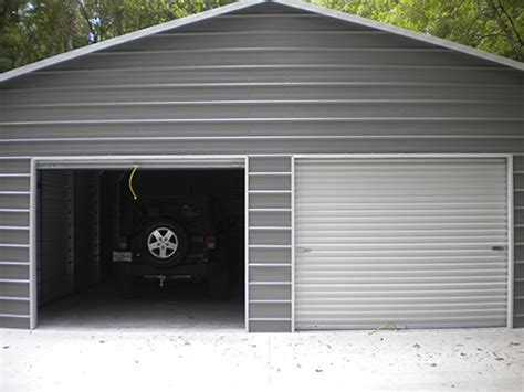 Metal Garages Installed Custom Metal Garages For Sale Installed Probuilt Steel