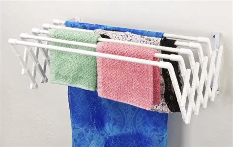 Wall Mounted Expandable Clothes Drying Rack by Expandable Wall Mountable Clothes Drying Rack 17 99