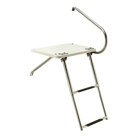 universal boat ladder seachoice universal swim platform with under mount