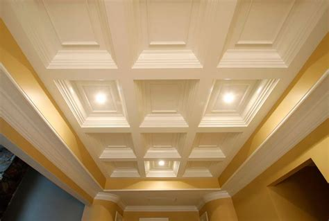 Residential Drop Ceiling Styles by Coffered Ceiling Coffer Ceiling