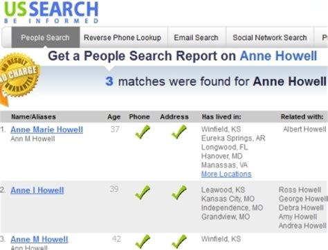 Search By Name Only American Search