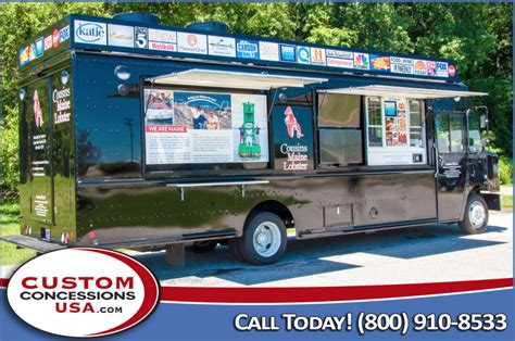 custom concessions usa food truck manufacturer reviews