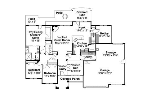traditional floor plan traditional house plans abbington 30 582 associated