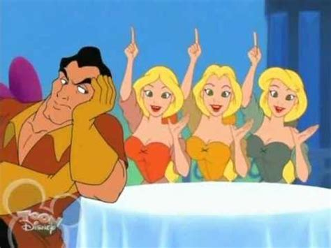 gaston and the bimbettes in house of mouse tv show