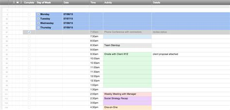 Free Excel Schedule Templates For Schedule Makers Schedule Adherence Excel Template