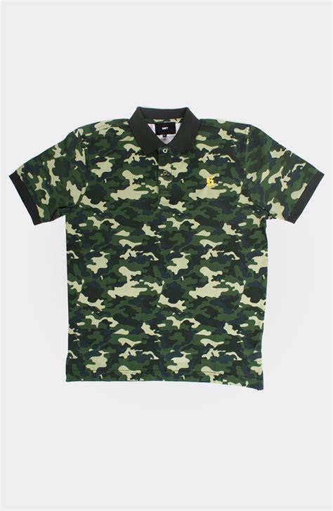 Shirt Set Set S Camo Polo Shirt Green Via Set Store Setstore Co Uk