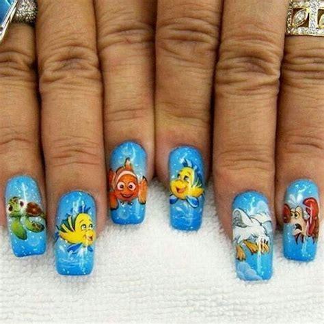 aquarium nail art tutorial awesome aquarium nail art ideas