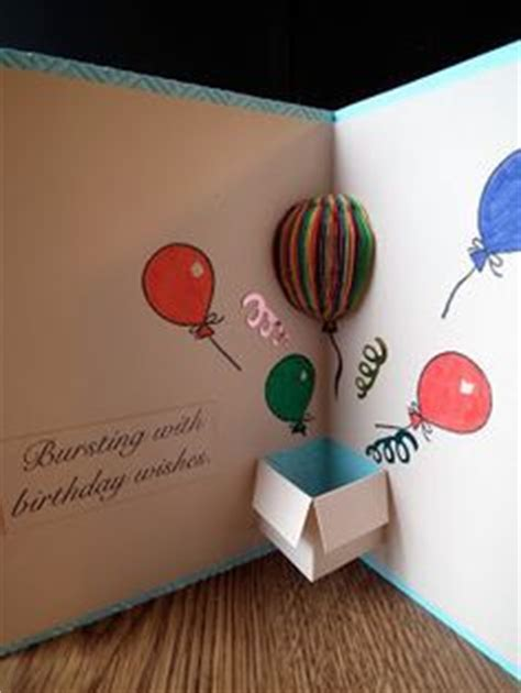 How To Make A Cool Birthday Card Out Of Paper - best 25 diy birthday cards ideas on birthday