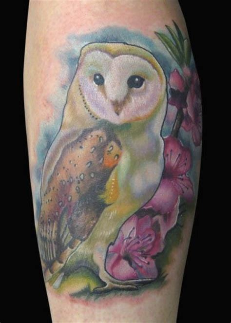 owl tattoo cherry blossom 394 best images about tattoo on pinterest barn owl