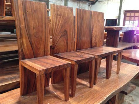 Kursi Kayu Trembesi jual kursi makan kayu trembesi utuh harga murah