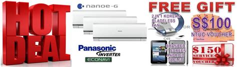 panasonic new year promotion ct air con panasonic air con special promotion free gift