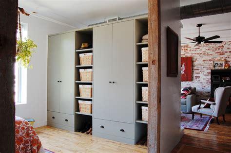 Loft Closet by Houzz Textiles Charm An Open Loft