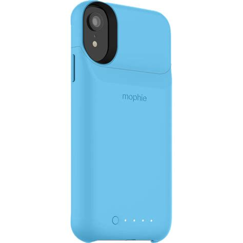 mophie juice pack access  iphone xr blue  bh