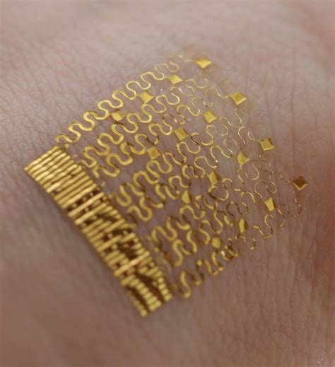electronic tattoo tracks the heat running through your