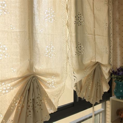 pull up drapes aliexpress com buy american style beige sculpture