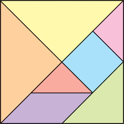 tangram cuadrado las tic en educaci 211 n